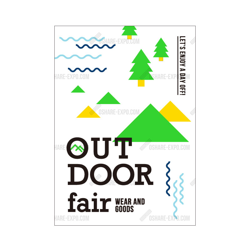 OUTDOOR FAIRデザイン